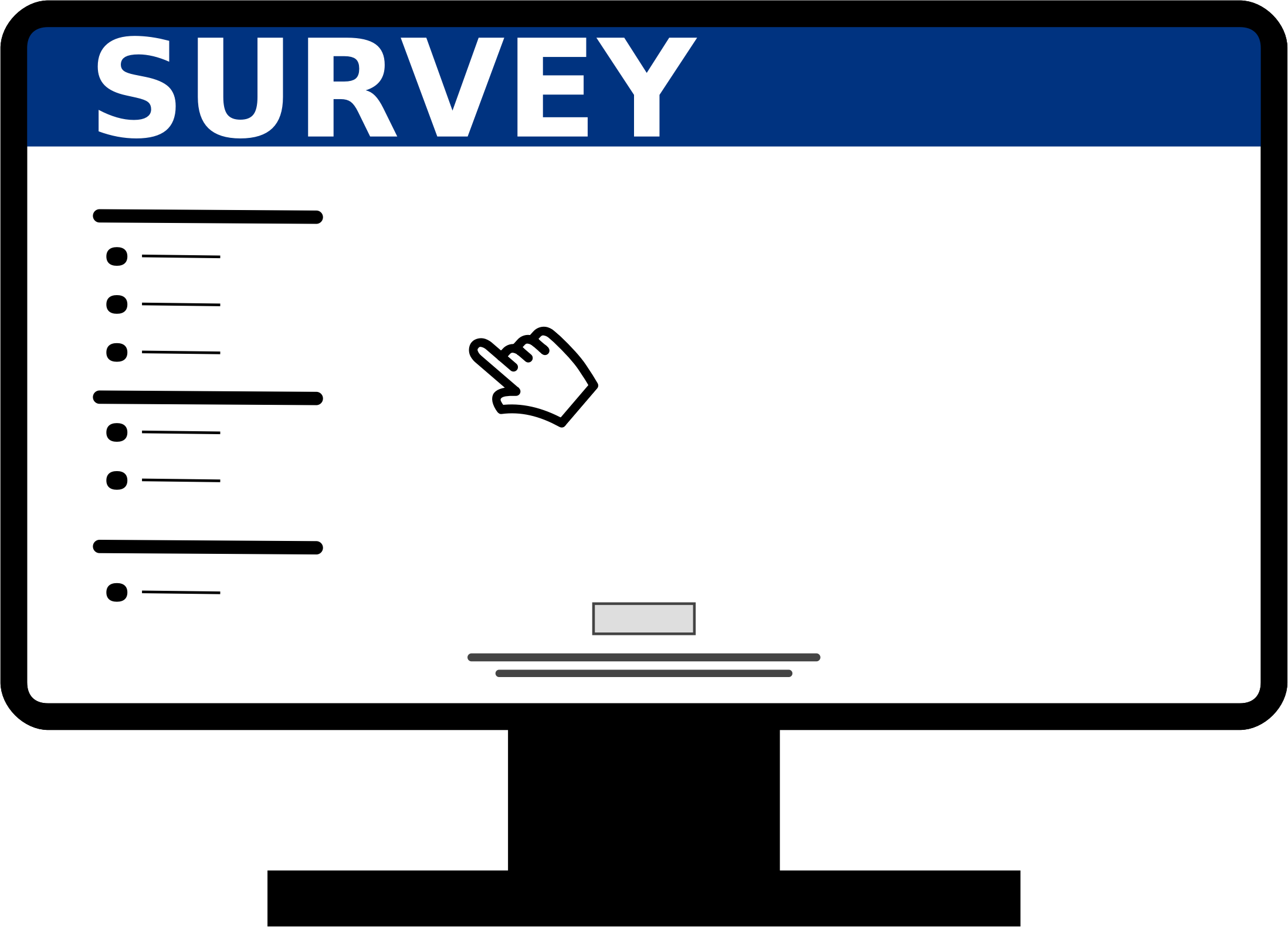 Creation of the second survey